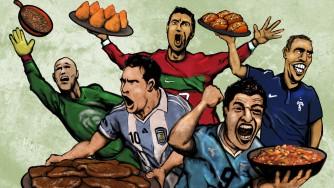 Futbolcuların En Sevdiği Yemekler...